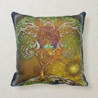 Tree Of Life Artwork Throw Pillow