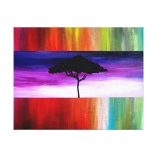 Tree of Life at Sunset by Alicia L. McDaniel Canvas Print