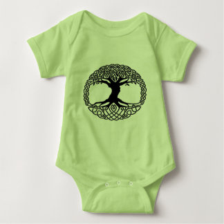 Tree of life baby bodysuit