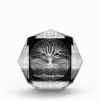 Tree of life black and white serenity award