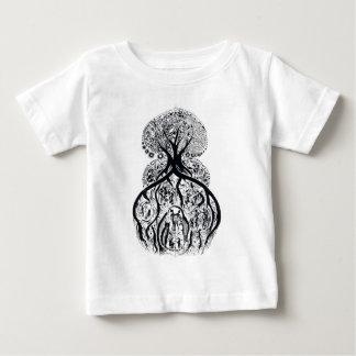 TREE of LIFE - black & white Baby T-Shirt