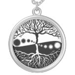 Tree of Life, Black, White Custom Jewelry