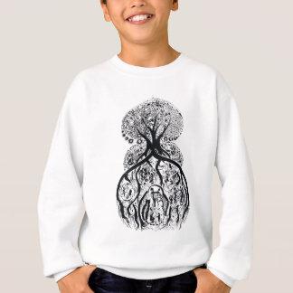 TREE of LIFE - black & white Sweatshirt