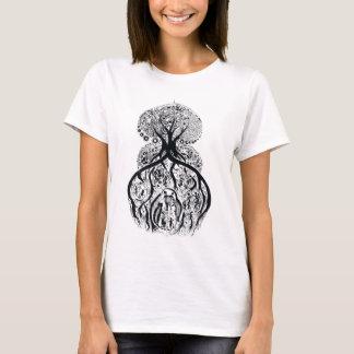 TREE of LIFE - black & white T-Shirt