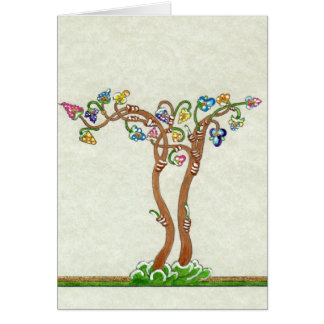 Tree of Life Blank Notecard Greeting Cards
