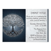 Tree of Life Blue Sky Peaceful Night Card (<em>$2.01</em>)