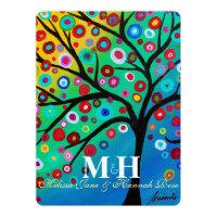 Tree of Life B'not Mitzvah Invitations
