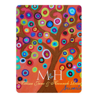 Tree of Life B'not Mitzvah Invitations