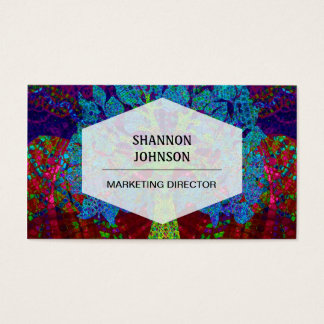 Tree of Life Boundless Enthusiasm Business Card