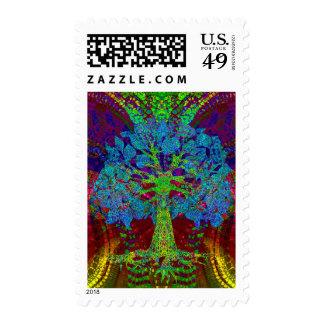 Tree of Life Boundless Enthusiasm by Amelia Carrie Postage