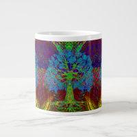 Tree of Life Boundless Enthusiasm Giant Coffee Mug