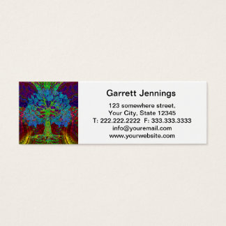 Tree of Life Boundless Enthusiasm Mini Business Card