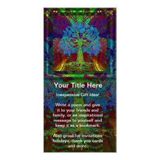 Tree of Life Boundless Enthusiasm Photo Card