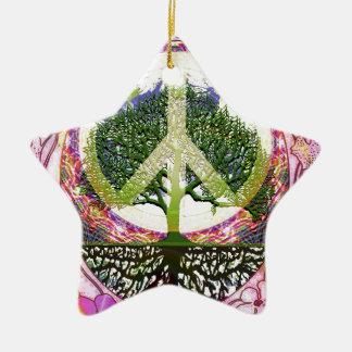 Tree of Life Breath of Life Ceramic Ornament