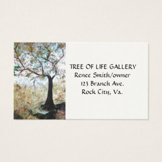"""TREE OF LIFE"" business card"