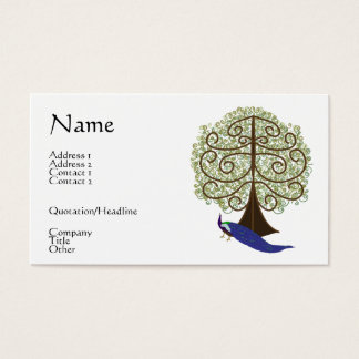 Tree of Life Business Card / Profile Card