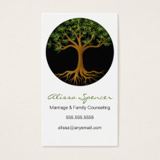 Tree Of Life Business Cards at Zazzle