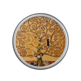 Tree of Life by Gustav Klimt Fine Art Bluetooth Speaker