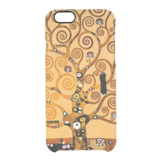 Tree of Life by Gustav Klimt Fine Art Clear iPhone 6/6S Case