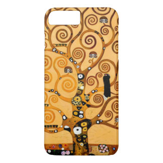 Tree of Life by Gustav Klimt Fine Art iPhone 7 Plus Case