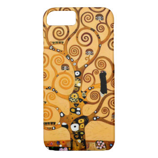 Tree of Life by Gustav Klimt Fine Art iPhone 8/7 Case