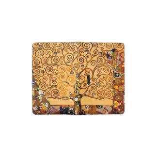 Tree of Life by Gustav Klimt Fine Art Pocket Moleskine Notebook
