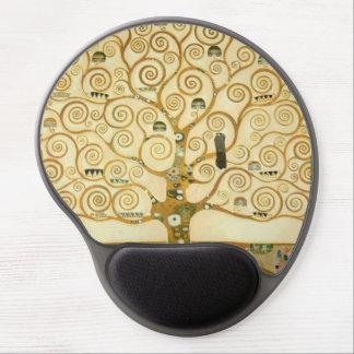 Tree of Life by Gustav Klimt Gel Mouse Pad