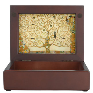 Tree of Life by Gustav Klimt Memory Box