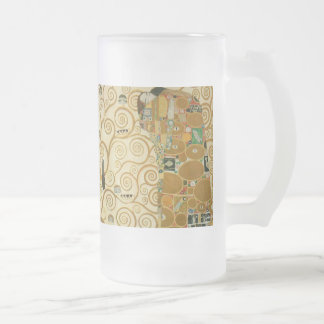 Tree of Life by Gustav Klimt Frosted Beer Mug