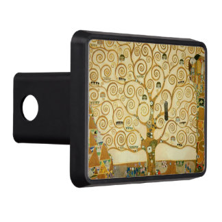 Tree of Life by Gustav Klimt Tow Hitch Covers