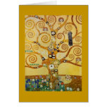 Tree of Life by Klimt Cards