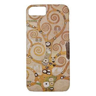 Tree of Life by Klimt, Stylized Art Nouveau Symbol iPhone 8/7 Case