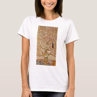 Tree of Life by Klimt, Stylized Art Nouveau Symbol T-Shirt