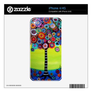 Tree of Life by Prisarts Decal For iPhone 4S