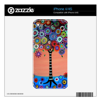 Tree of Life by Prisarts Decal For The iPhone 4