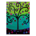 Tree of Life by Prisarts Greeting Card