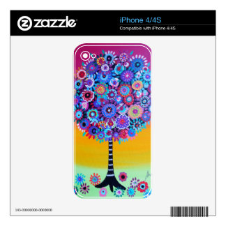 tree of life by prisarts iPhone 4S skin