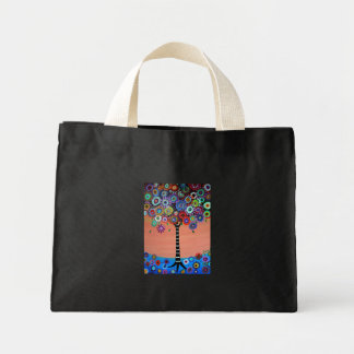 Tree of Life by Prisarts Mini Tote Bag
