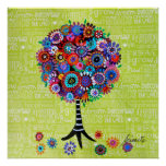 TREE OF LIFE BY PRISARTS POSTER