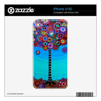Tree of Life by Prisarts Skins For The iPhone 4S