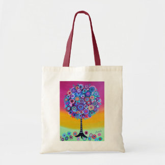 tree of life by prisarts tote bag