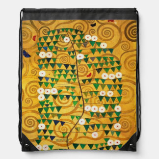 Tree of Life  c.1905-09 Drawstring Bag