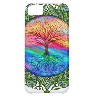 Tree of Life Calming Case For iPhone 5C