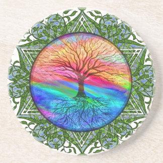 Tree of Life Calming Coaster