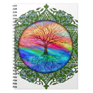 Tree of Life Calming Notebooks