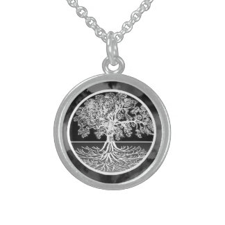 Tree of Life Calming Sterling Silver Necklace