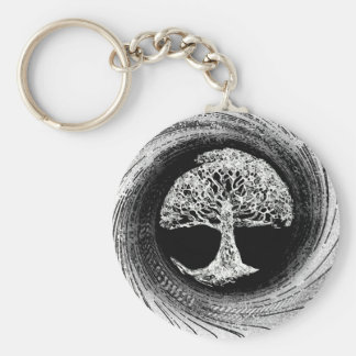 Tree of Life Calmness Within Keychain