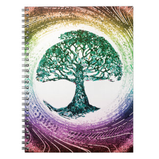 Tree of Life Calmness Within Notebook