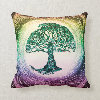 Tree of Life Calmness Within Throw Pillow