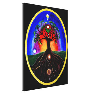 Tree of life gallery wrapped canvas